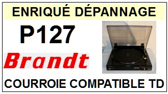 BRANDT-P127-COURROIES-ET-KITS-COURROIES-COMPATIBLES