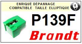 BRANDT <br>P139F Pointe elliptique pour tourne-disques <BR><small>sce 2014-11</small>