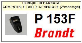 BRANDT <br>Platine P153F. (2°montage) Pointe diamant sphérique <BR><small>se 2014-11</small>