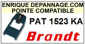 BRANDT platine PAT1523KA  Pointe de lecture Compatible diamant sphérique