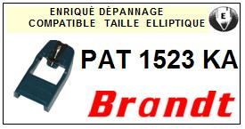 BRANDT <br>Platine PAT1523KA  Pointe diamant elliptique <BR><small>se 2014-10</small>
