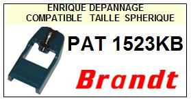 BRANDT<br> PAT1523KB Pointe sphérique pour tourne-disques <BR><small>sce 2015-01</small>