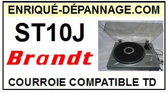 BRANDT-ST10J ST-10J-COURROIES-ET-KITS-COURROIES-COMPATIBLES