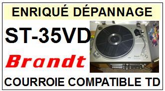 BRANDT-ST35VD ST-35VD-COURROIES-ET-KITS-COURROIES-COMPATIBLES