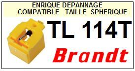 BRANDT Platine TL114T  Pointe diamant sphérique <BR><small>se 2014-03</small>