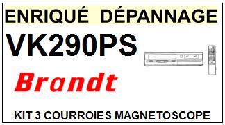 BRANDT-VK290PS-COURROIES-ET-KITS-COURROIES-COMPATIBLES