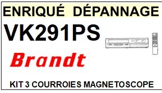 BRANDT-VK291PS-COURROIES-ET-KITS-COURROIES-COMPATIBLES