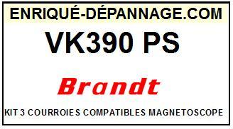 BRANDT-VK390PS-COURROIES-ET-KITS-COURROIES-COMPATIBLES