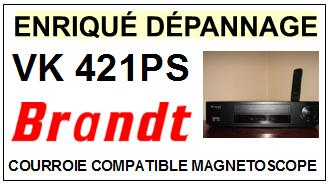 BRANDT-VK421PS VK-421 PS-COURROIES-ET-KITS-COURROIES-COMPATIBLES