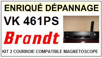 BRANDT-VK461PS-COURROIES-ET-KITS-COURROIES-COMPATIBLES