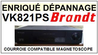 BRANDT-VK821PS-COURROIES-ET-KITS-COURROIES-COMPATIBLES