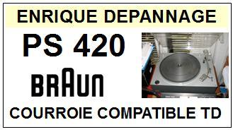 BRAUN-PS420-COURROIES-ET-KITS-COURROIES-COMPATIBLES