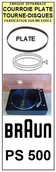 BRAUN-PS500-COURROIES-ET-KITS-COURROIES-COMPATIBLES