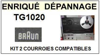 BRAUN-TG1020-COURROIES-ET-KITS-COURROIES-COMPATIBLES