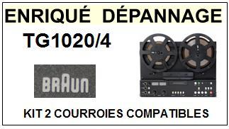 BRAUN-TG1020/4-COURROIES-ET-KITS-COURROIES-COMPATIBLES