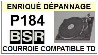 BSR-P184-COURROIES-ET-KITS-COURROIES-COMPATIBLES