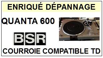 BSR-QUANTA 600-COURROIES-ET-KITS-COURROIES-COMPATIBLES