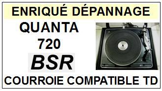 BSR-QUANTA 720-COURROIES-ET-KITS-COURROIES-COMPATIBLES