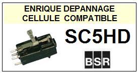 BSR SC5HD  Cellule de remplacement  avec saphir Sphérique
