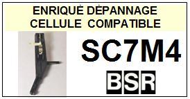 BSR SC7M4  Cellule de remplacement  avec saphirs Sphériques réversibles st/st