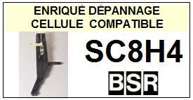 BSR SC8H4  Cellule de remplacement  avec saphirs Sphériques réversibles st/st
