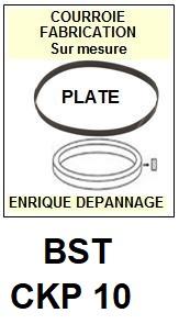 BST-CKP10 CKP 10-COURROIES-ET-KITS-COURROIES-COMPATIBLES