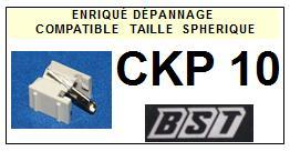 BST<br> CKP10 CKP-10 Pointe (stylus) diamant sphérique <small> 2015-09</small>