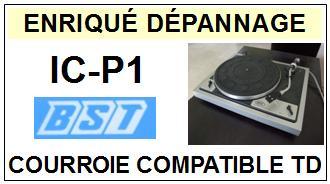BST-ICP1 IC-P1-COURROIES-ET-KITS-COURROIES-COMPATIBLES