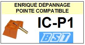 BST<br> ICP1 IC-P1 Pointe sphérique pour tourne-disques<small> 2015-09</small>
