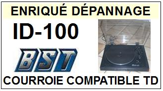 BST-ID100 ID-100-COURROIES-ET-KITS-COURROIES-COMPATIBLES