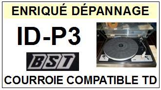 BST-IDP3 ID-P3-COURROIES-ET-KITS-COURROIES-COMPATIBLES