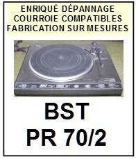BST-PR70/2-COURROIES-ET-KITS-COURROIES-COMPATIBLES