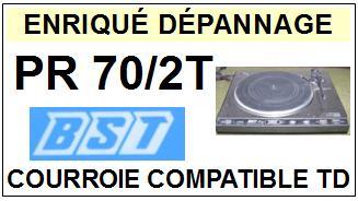 BST-PR70/2T-COURROIES-ET-KITS-COURROIES-COMPATIBLES