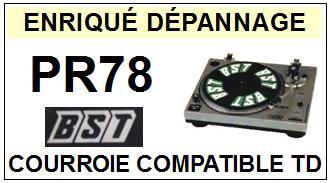BST-PR78-COURROIES-ET-KITS-COURROIES-COMPATIBLES