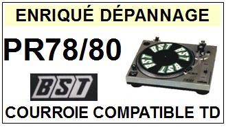 BST-PR78/80-COURROIES-ET-KITS-COURROIES-COMPATIBLES