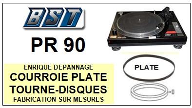 BST-PR90 PR-90-COURROIES-ET-KITS-COURROIES-COMPATIBLES