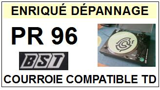 bst platine pr96 courroie tourne disques a 2014 10 16 euros. Black Bedroom Furniture Sets. Home Design Ideas