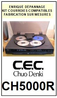 CEC-CH5000R-COURROIES-ET-KITS-COURROIES-COMPATIBLES