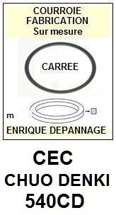CEC CHUO DENKI-540CD-COURROIES-ET-KITS-COURROIES-COMPATIBLES