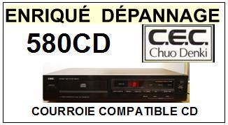 CEC CHUO DENKI-580CD-COURROIES-ET-KITS-COURROIES-COMPATIBLES