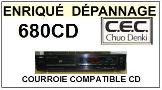 CEC CHUO DENKI-680CD (MOTEUR OUVERTURE)-COURROIES-ET-KITS-COURROIES-COMPATIBLES