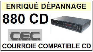 CEC CHUO DENKI-880CD-COURROIES-ET-KITS-COURROIES-COMPATIBLES