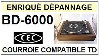CEC CHUO DENKI-BD6000 BD-6000-COURROIES-ET-KITS-COURROIES-COMPATIBLES