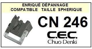 CEC CHUO DENKI CN246  <br>Pointe Diamant sphérique (stylus)<small> 2016-01</small>