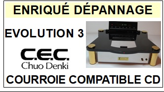 CEC CHUO DENKI-EVOLUTION 3-COURROIES-ET-KITS-COURROIES-COMPATIBLES