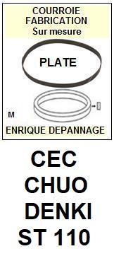 CEC CHUO DENKI-ST110-COURROIES-ET-KITS-COURROIES-COMPATIBLES