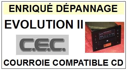 CEC-EVOLUTION II 2 (DRIVER CD)-COURROIES-ET-KITS-COURROIES-COMPATIBLES