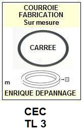 CEC-TL3 DRIVER CD-COURROIES-ET-KITS-COURROIES-COMPATIBLES