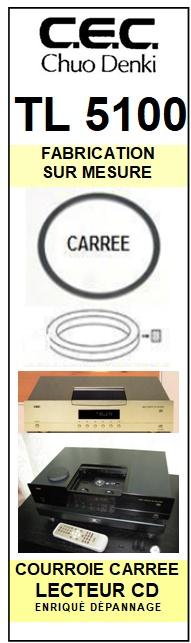 CEC CHUO DENKI-TL5100-COURROIES-ET-KITS-COURROIES-COMPATIBLES