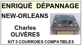 CHARLES OLIVERES-NEW-ORLEANS-COURROIES-ET-KITS-COURROIES-COMPATIBLES
